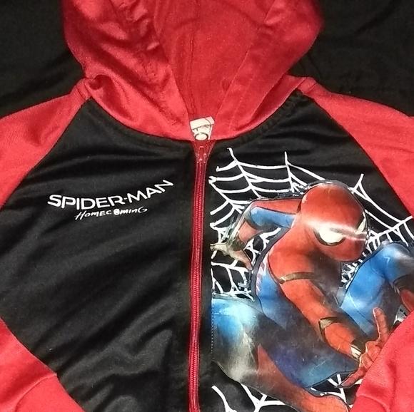 Marvel Other - spiderman zip up jacket